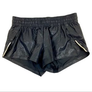 H & M Black Running Shorts Size 12